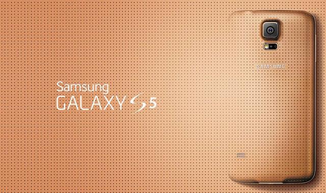 Galaxy-S5-Gold